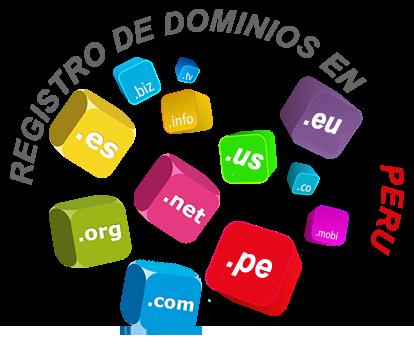 Dominios web Peru